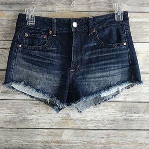 American Eagle AEO High Rise Festival Jean Shorts
